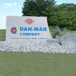 Dan Mar Company Sign