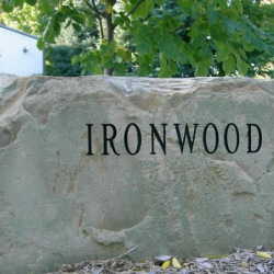Ironwood boulder